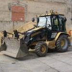 traktor - bagr Cat 432 D