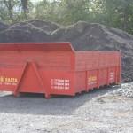 velkoobjemový kontejner 11.88 m3