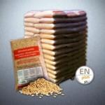 dřevěné pelety EN plus A1
